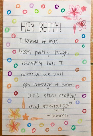Card for Betty