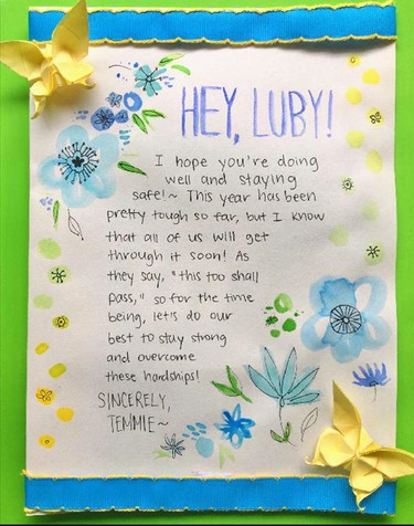 Card for Luby