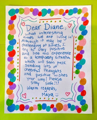 Card for Diane