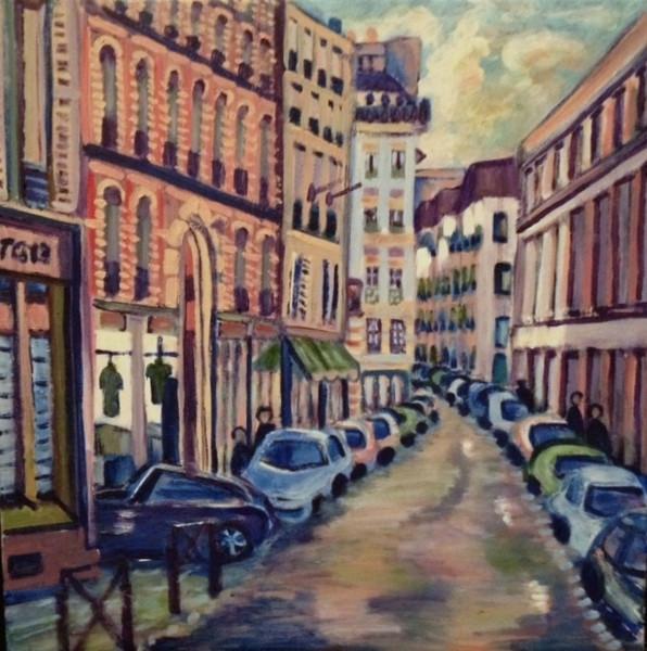 street scene Paris 1