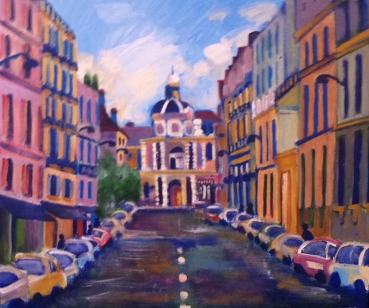 Street Scene Paris 2