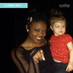 Lorali's first competition experience 2 years ago!