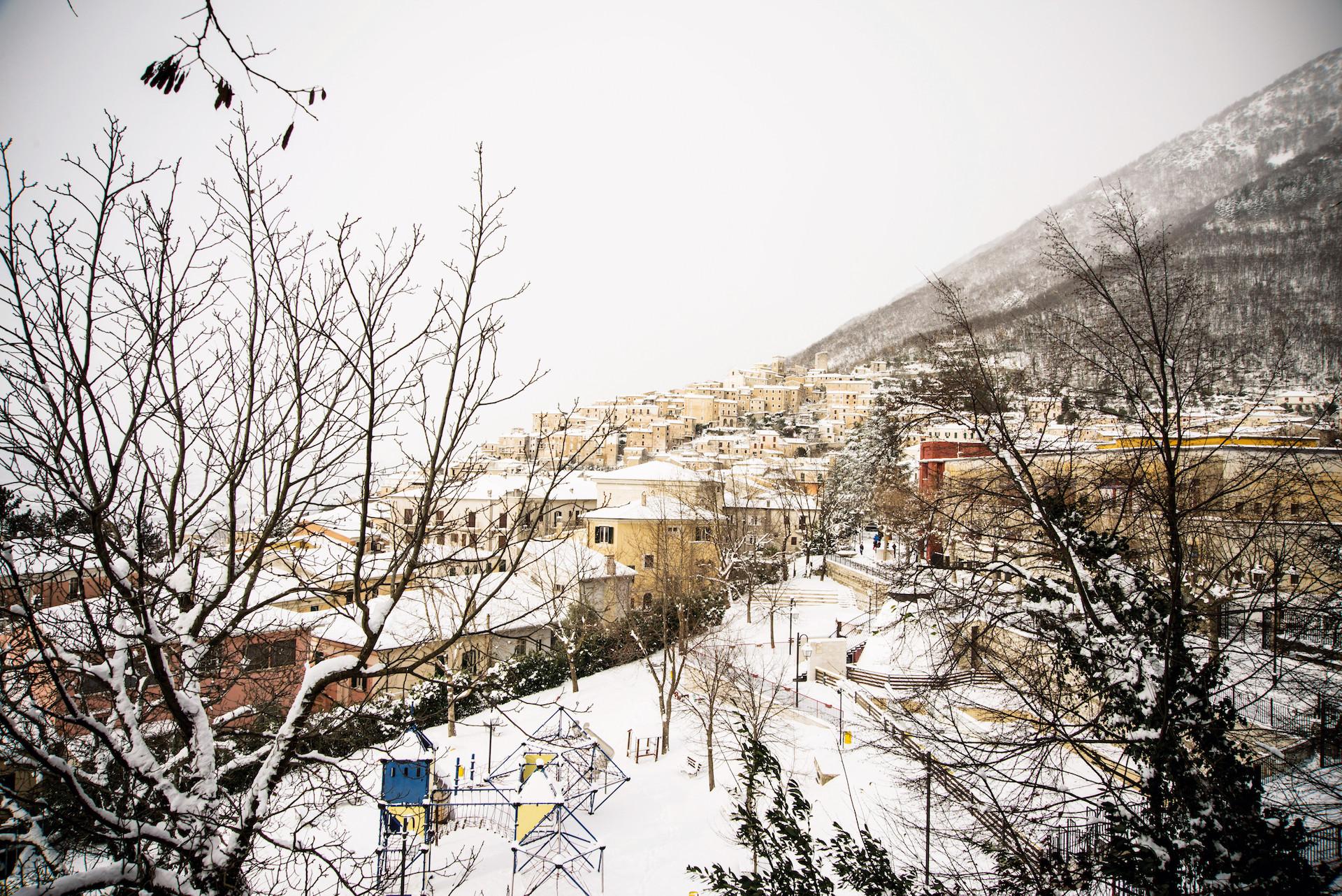 San Donato in winter
