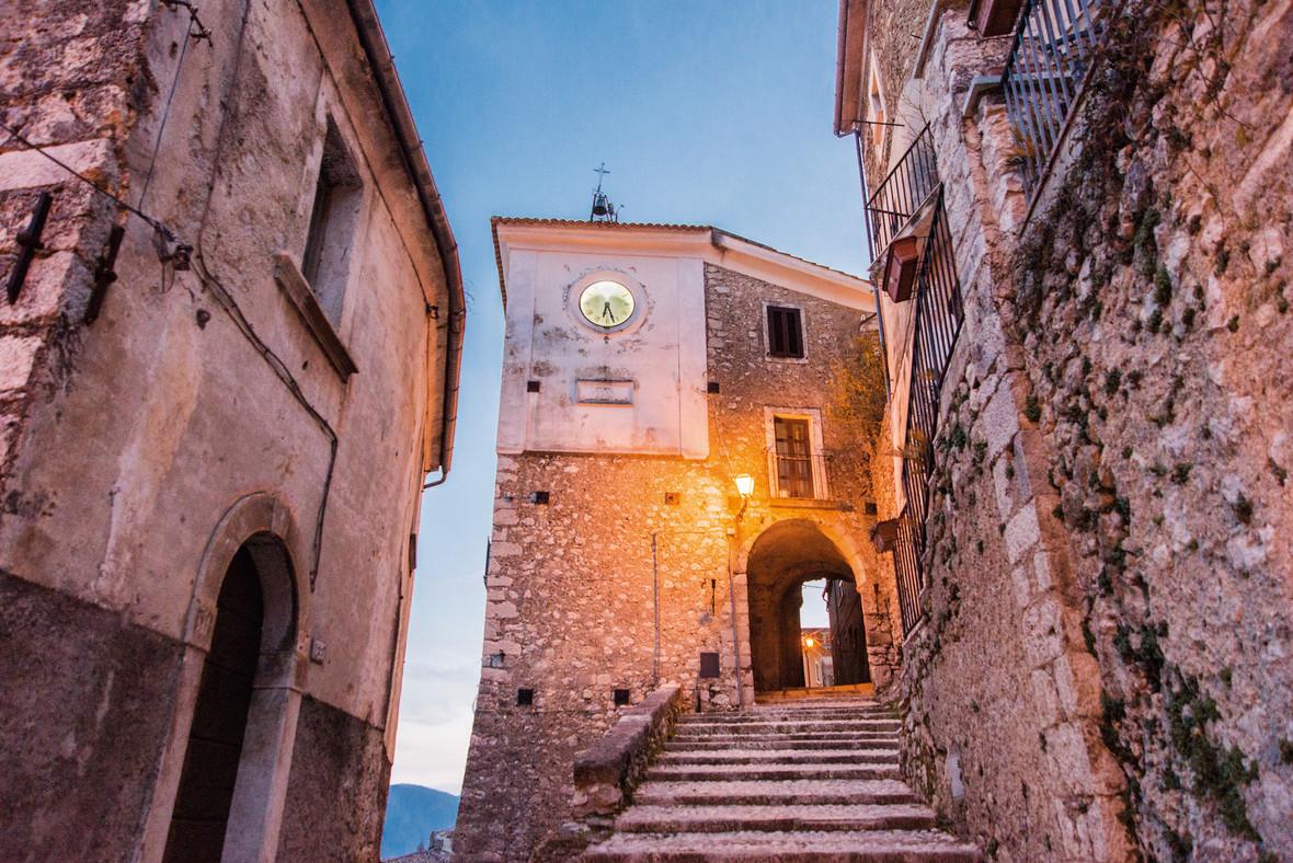 San Donato - The clock