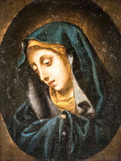 DSC_3941 - Dipinto Madonna  olio su rame