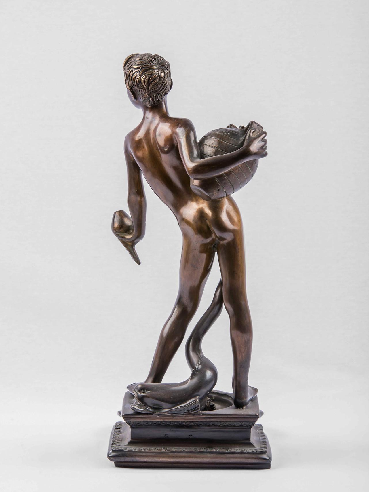DSC_4691 - L'acquaiolo scultura in bronz
