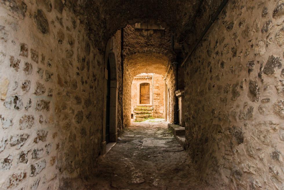San Donato - Vicolo scale sante