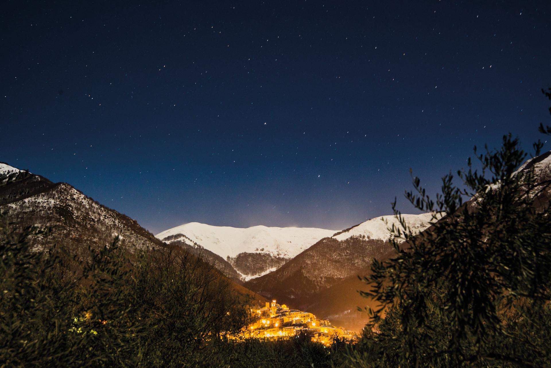 San Donato by night