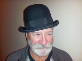 Felt bowler hat