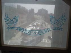 Silkscreen frame