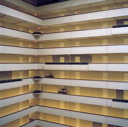 Interior Atrium of Hotel