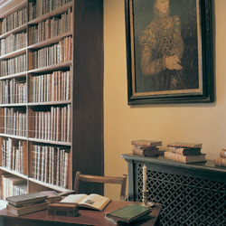 Library, Lacock Abbey