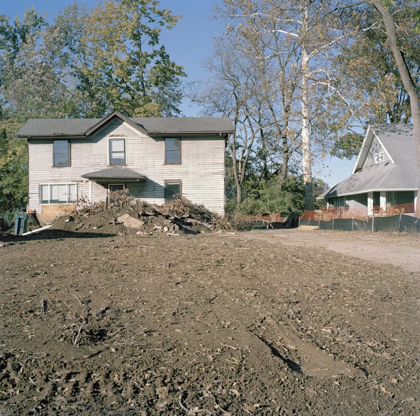 Historic Home before Demolition