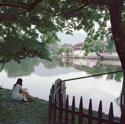 Reflections at Hongcun Village