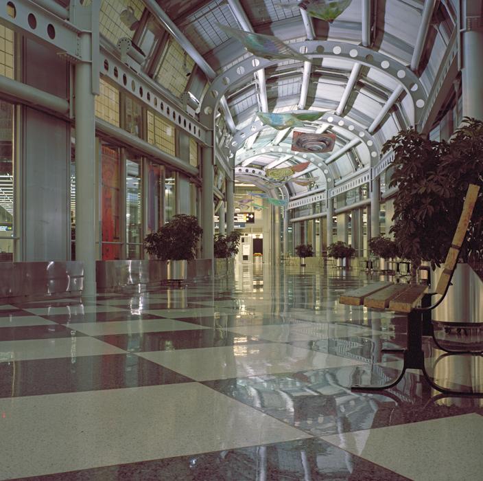 Airport Terminal Passage