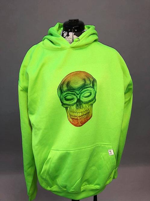 Electric Rainbow Skull