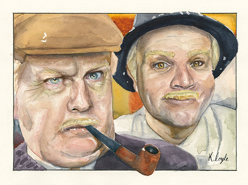 Jack and Victor Limited Edition Framed Giclée Print