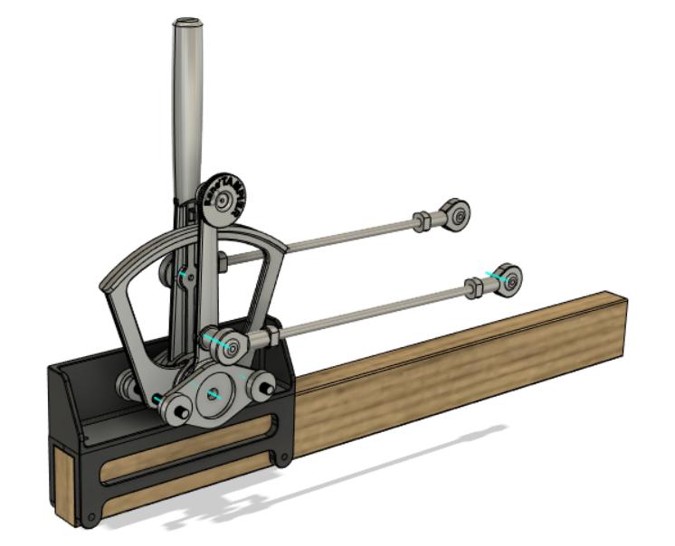 Tampier Quadrant CAD Rendering