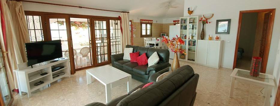 Villa In Amarilla Golf, living room