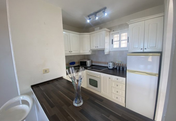 Penthouse apartment in Lo Cristianos, the kitchen