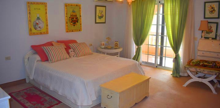 Luxury villa in Tenerife, a bedroom.jpg