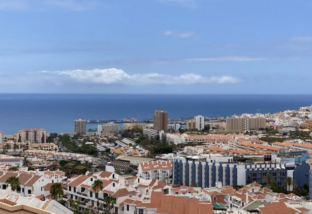 The view over Los Cristianos.