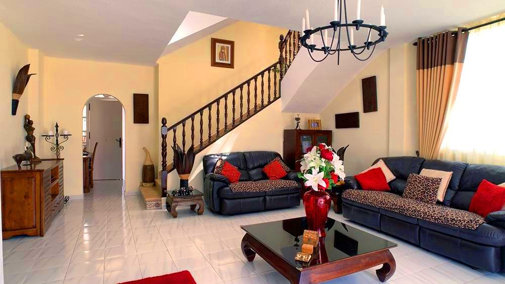Villa in Callao Salvaje, reception room.