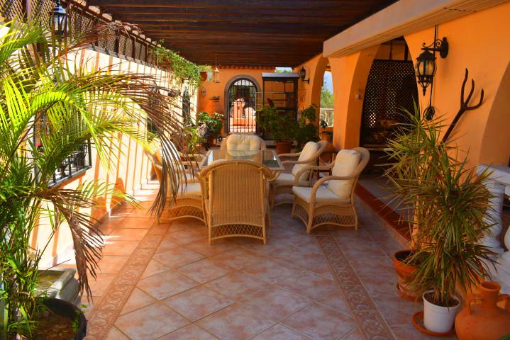 Luxury hillside villa in Tenerife, the p