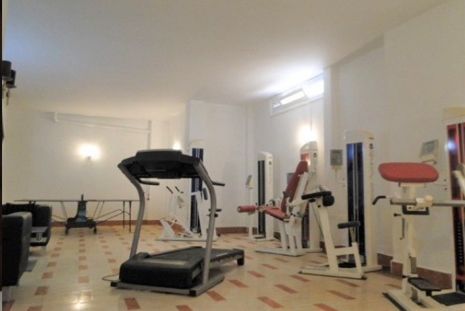 Luxury villa on Adeje Golf, the gym.jpg