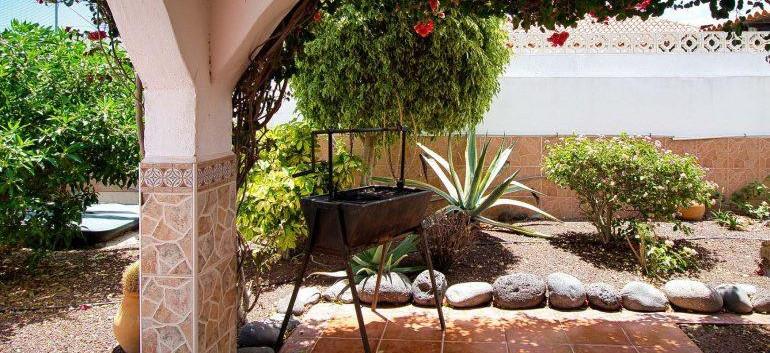 Villa in Amarilla Golf, barbeque