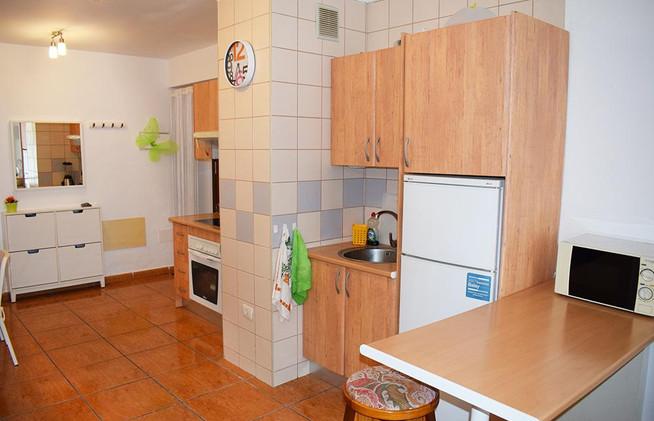 Aguamarina, the kitchen