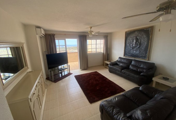 Penthouse apartment in Los Cristianos, the living room