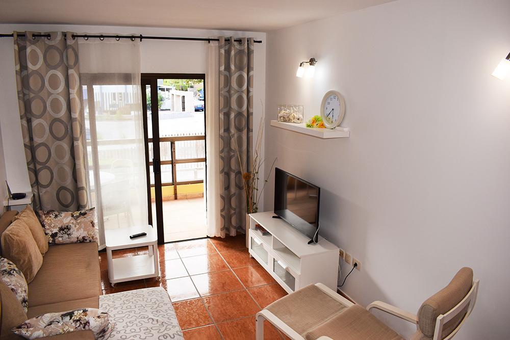 Aguamarina, the living room