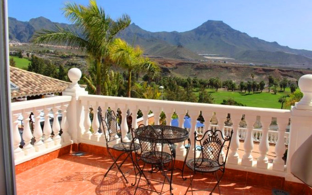 Luxury villa in Adeje Golf, view for the