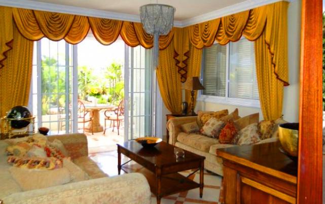 Luxury villa on Adeje Golf, reception ro