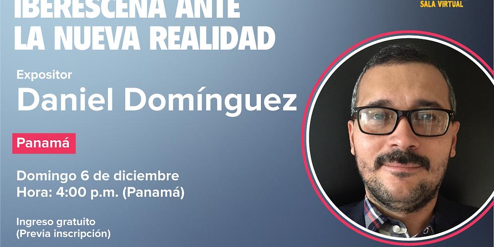Conversatorio Iberescena DANIEL DOMÍNGUEZ.