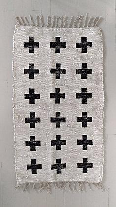 Rug Cross black