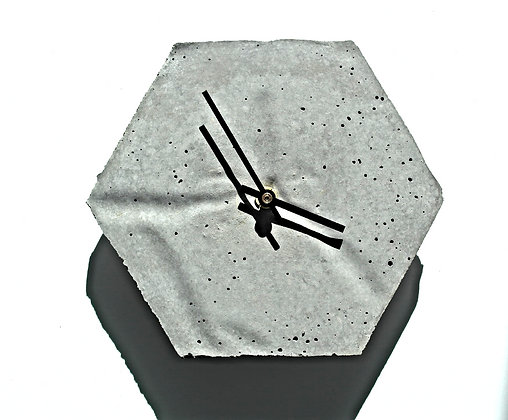 Clock Hexagon SMALL