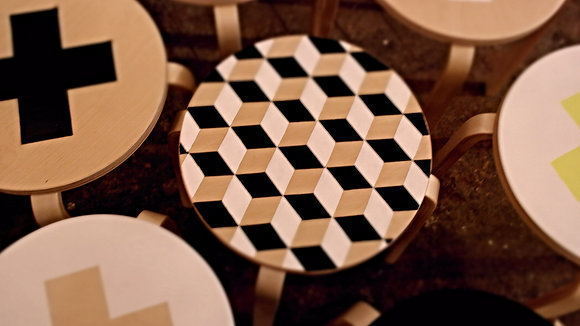 Stool Hexagon