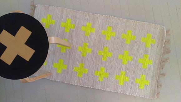 Rug Cross Yellow