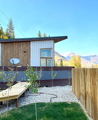 Durango, CO vacation rental cabin with mountain in the background located at The Nugget Mountain Bar