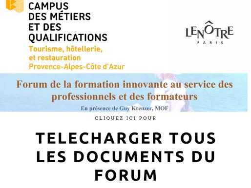 {Forum} Forum de la formation innovante au service des professionnels et des formateurs