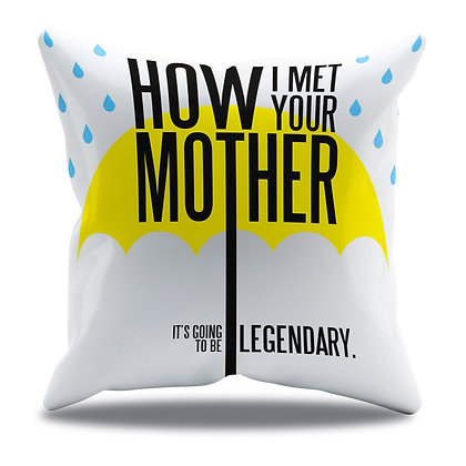 Almofada Personalizada How I Met Your Mother - Modelo 3