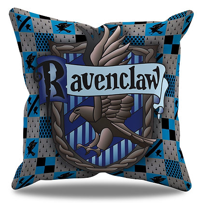 Almofada Personalizada Corvinal / Ravenclaw - Hogwarts - Harry Potter