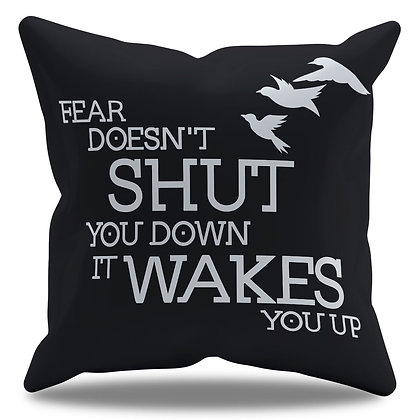 Almofada Personalizada Divergente - Fear Doesn´t Shut You Down