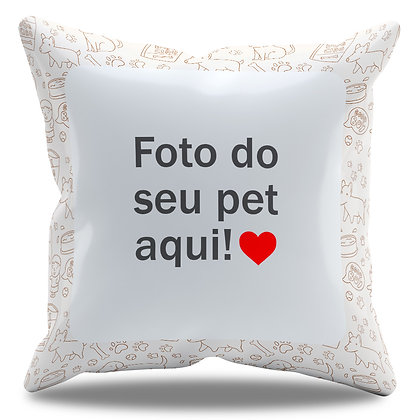 Almofada Personalizada de Pet - Modelo 09