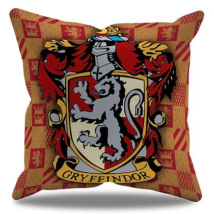 Almofada Personalizada Grifinória / Gryffindor - Hogwarts - Harry Potter