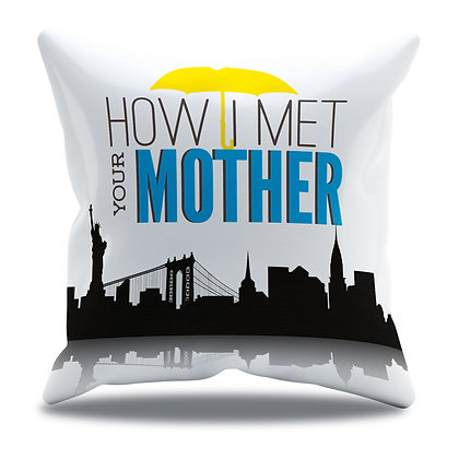 Almofada Personalizada How I Met Your Mother - Modelo 5