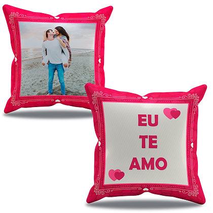 Almofada Personalizada Amor - Eu te amo - Vermelha