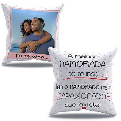 Almofada Personalizada Amor - Melhor Namorada do Mundo